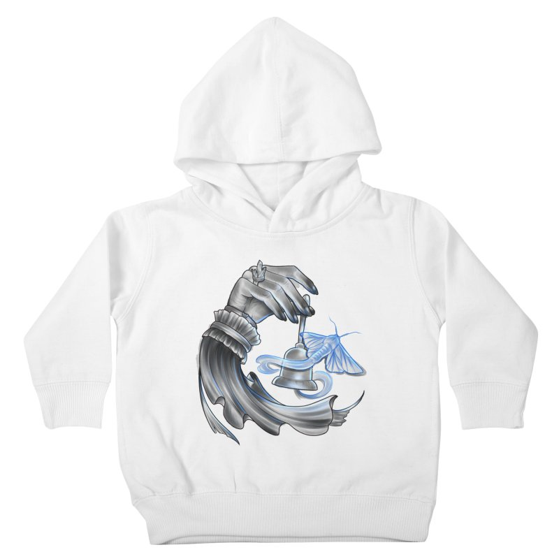 The Wisp Kids Toddler Pullover Hoody by Toadhouse Editions