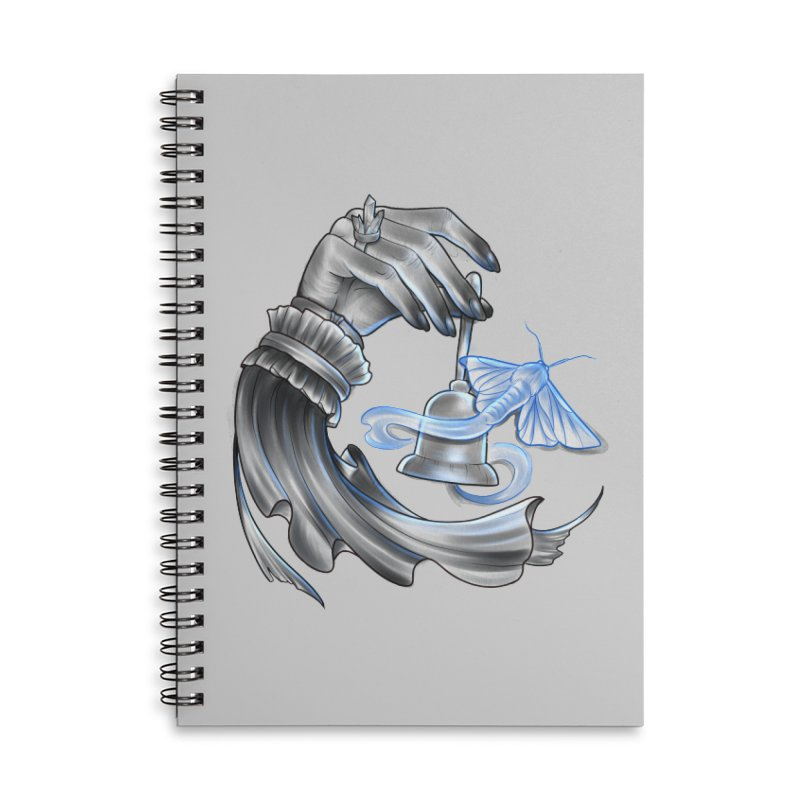 The Wisp Accessories Lined Spiral Notebook by Toadhouse Editions