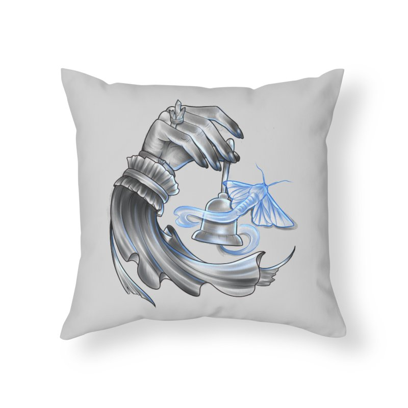 The Wisp Home Throw Pillow by Toadhouse Editions