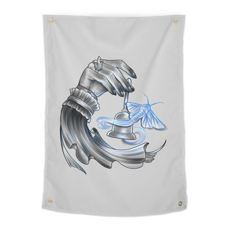 The Wisp Home Tapestry by Toadhouse Editions