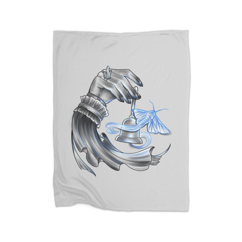 The Wisp Home Fleece Blanket Blanket by Toadhouse Editions