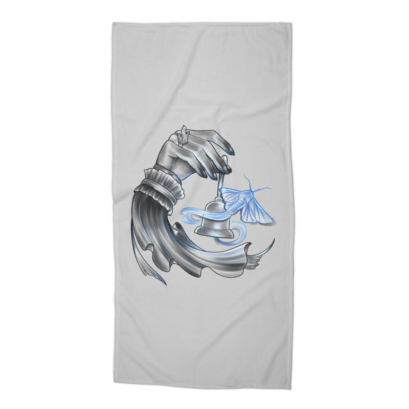 The Wisp Accessories Beach Towel by Toadhouse Editions