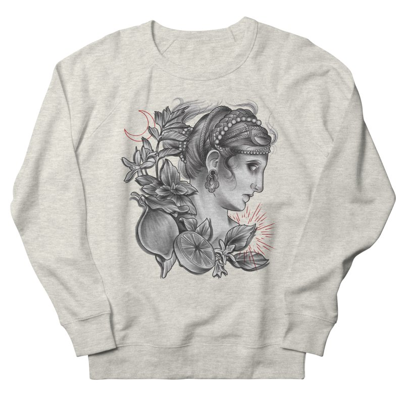 Limonana Women's French Terry Sweatshirt by Toadhouse Editions
