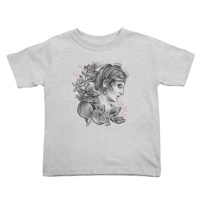 Limonana Kids Toddler T-Shirt by Toadhouse Editions