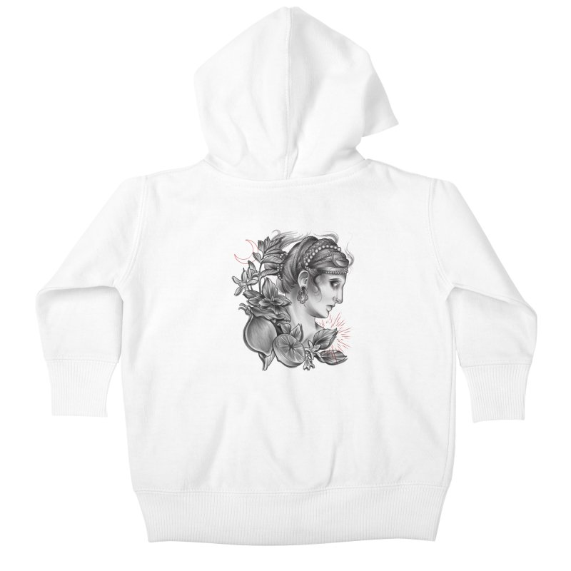 Limonana Kids Baby Zip-Up Hoody by Toadhouse Editions