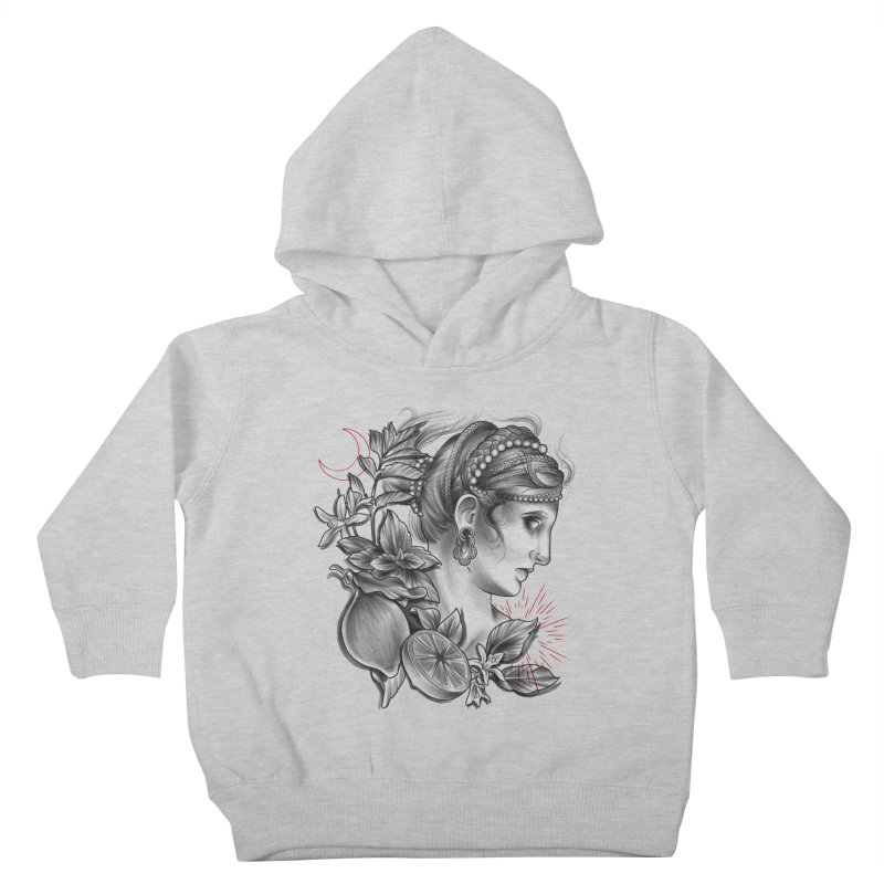 Limonana Kids Toddler Pullover Hoody by Toadhouse Editions