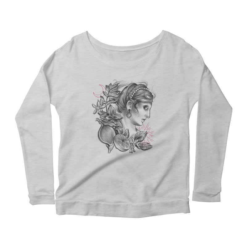 Limonana Women's Scoop Neck Longsleeve T-Shirt by Toadhouse Editions