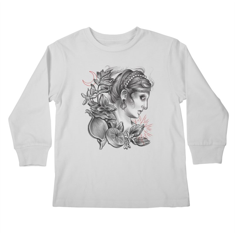 Limonana Kids Longsleeve T-Shirt by Toadhouse Editions