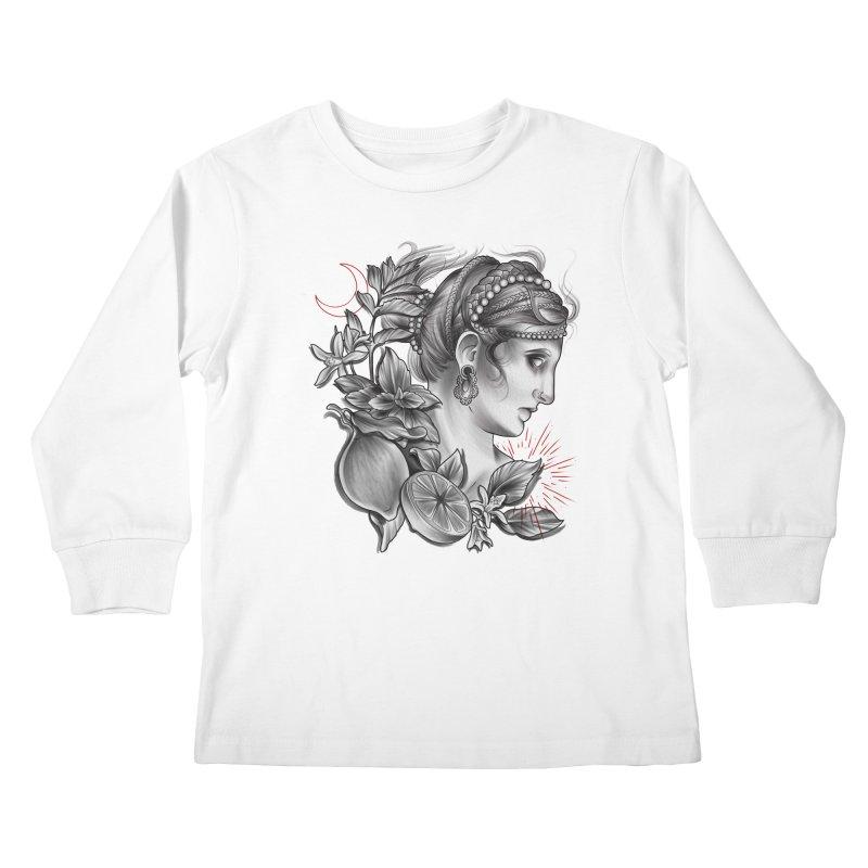 Limonana Kids Longsleeve T-Shirt by Toadhouse Editions