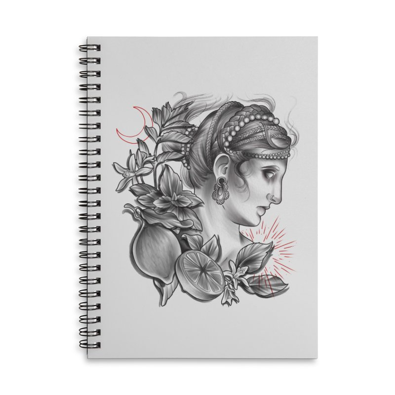Limonana Accessories Lined Spiral Notebook by Toadhouse Editions