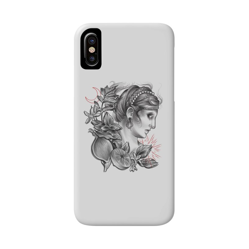 Limonana Accessories Phone Case by Toadhouse Editions