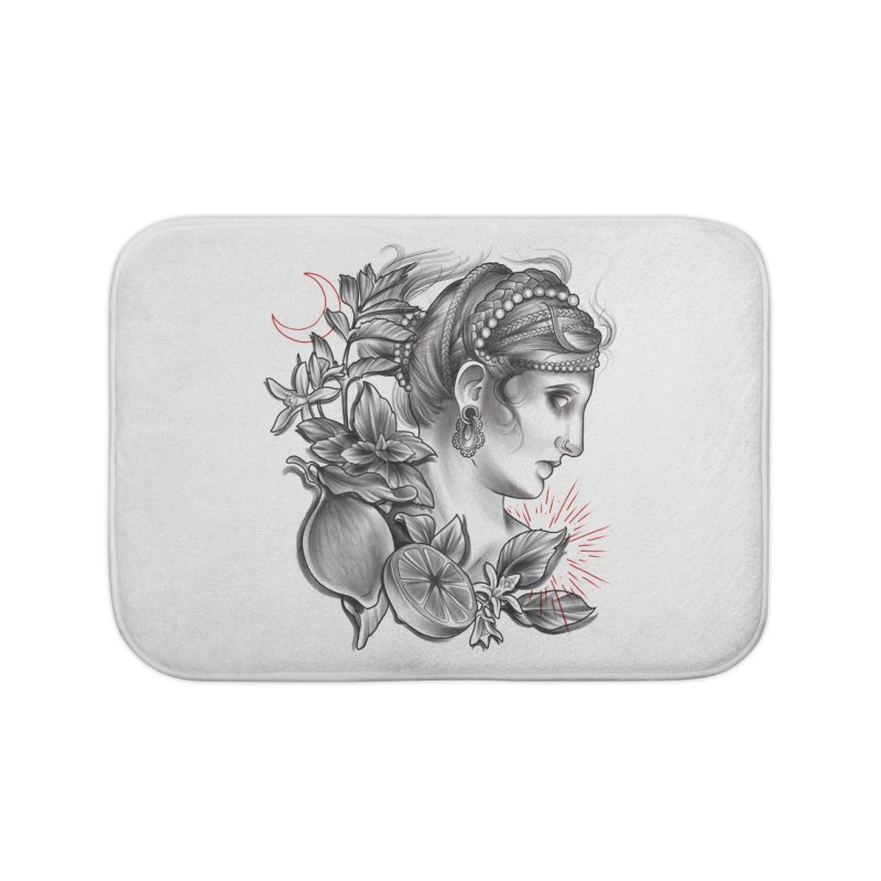 Limonana Home Bath Mat by Toadhouse Editions