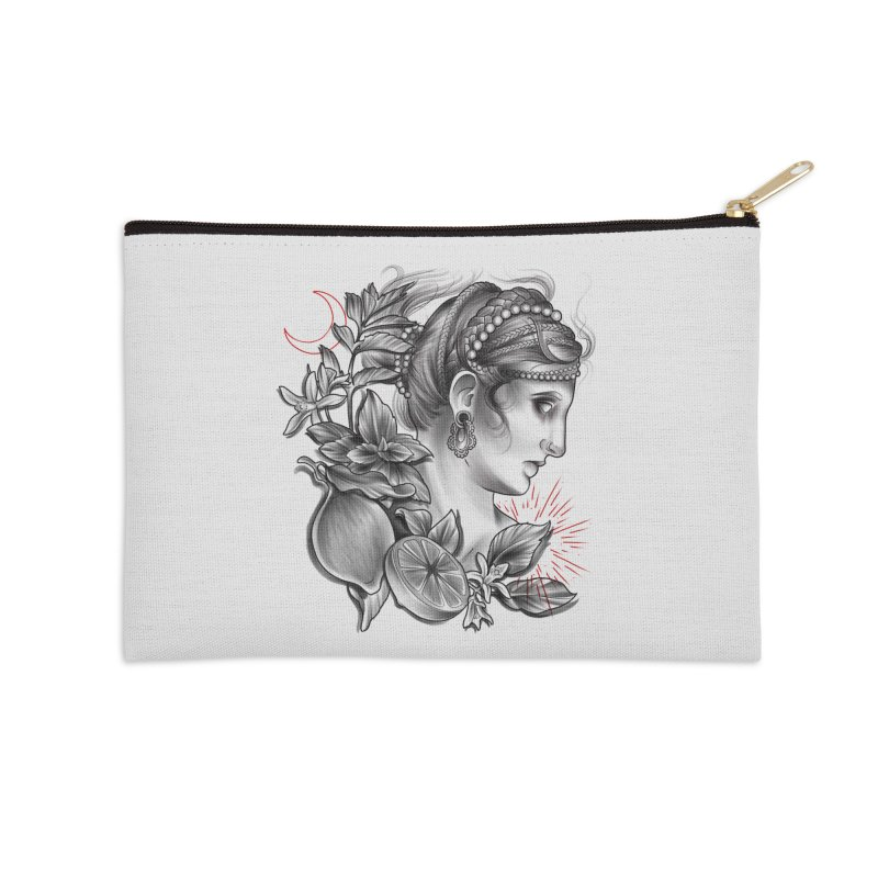 Limonana Accessories Zip Pouch by Toadhouse Editions