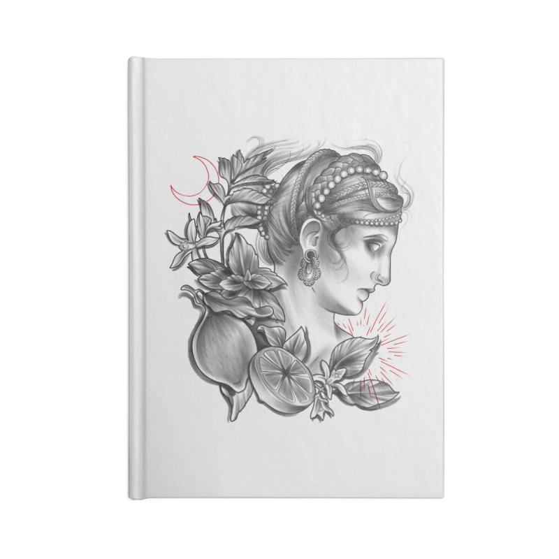 Limonana Accessories Blank Journal Notebook by Toadhouse Editions