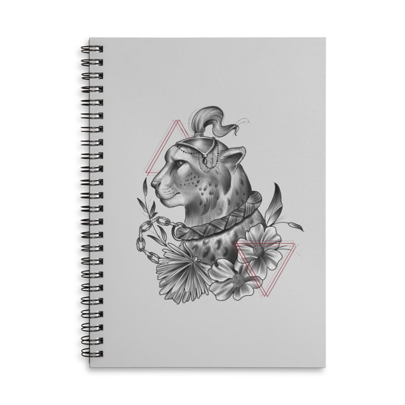 Acinonyx Accessories Lined Spiral Notebook by Toadhouse Editions