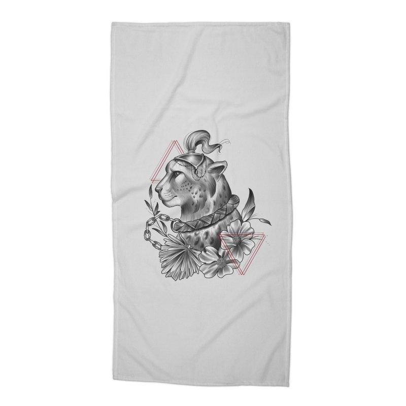 Acinonyx Accessories Beach Towel by Toadhouse Editions