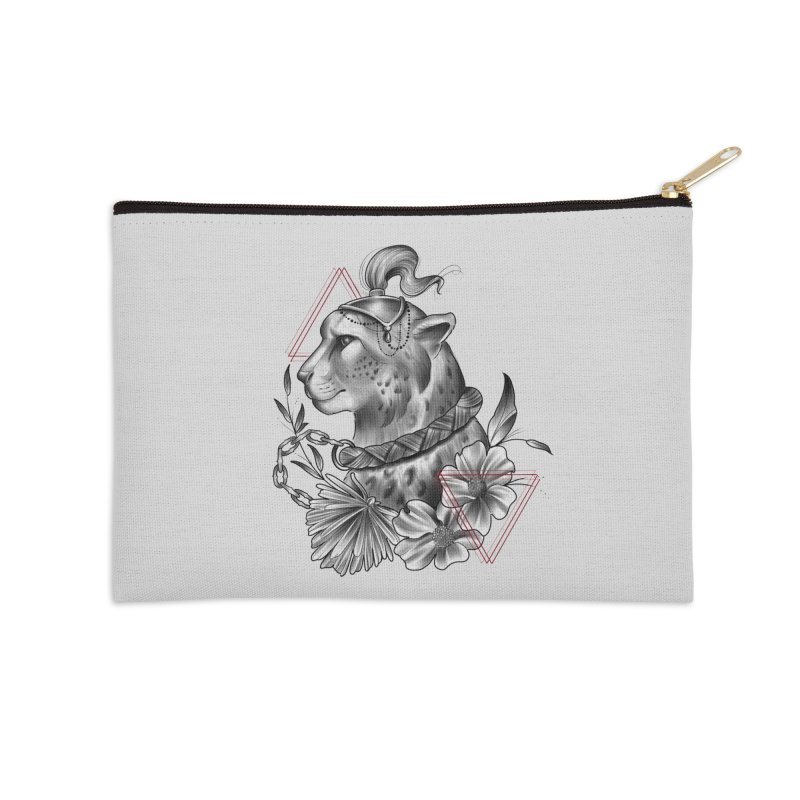 Acinonyx Accessories Zip Pouch by Toadhouse Editions