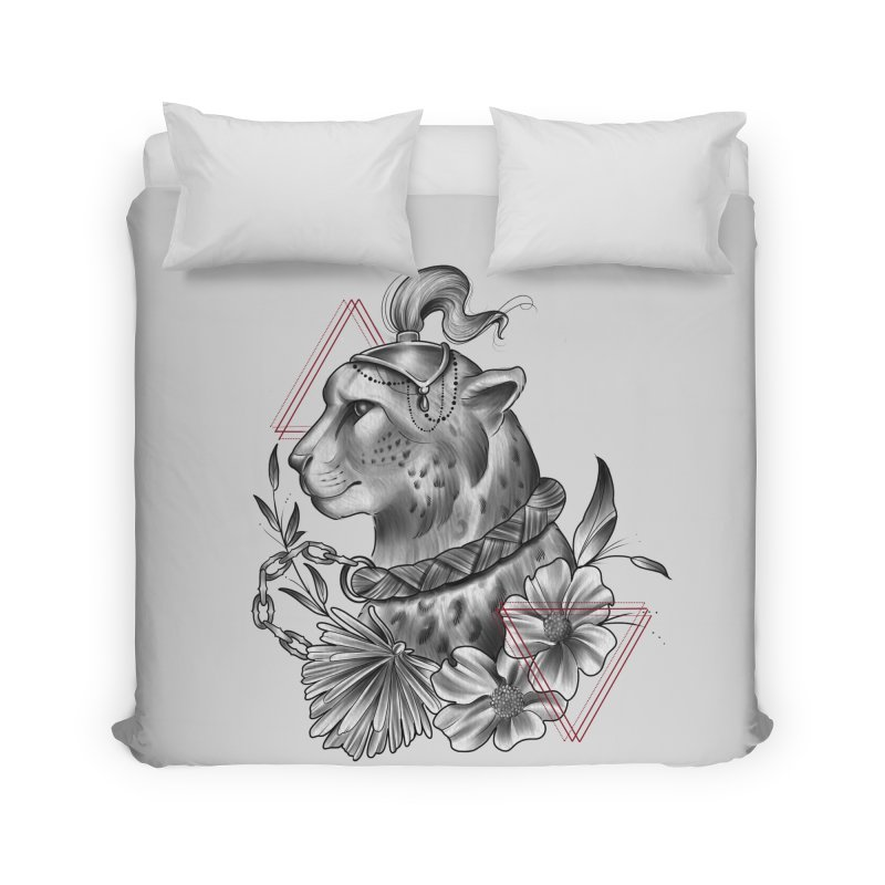 Acinonyx Home Duvet by Toadhouse Editions