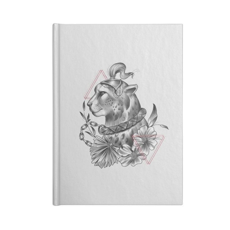 Acinonyx Accessories Blank Journal Notebook by Toadhouse Editions