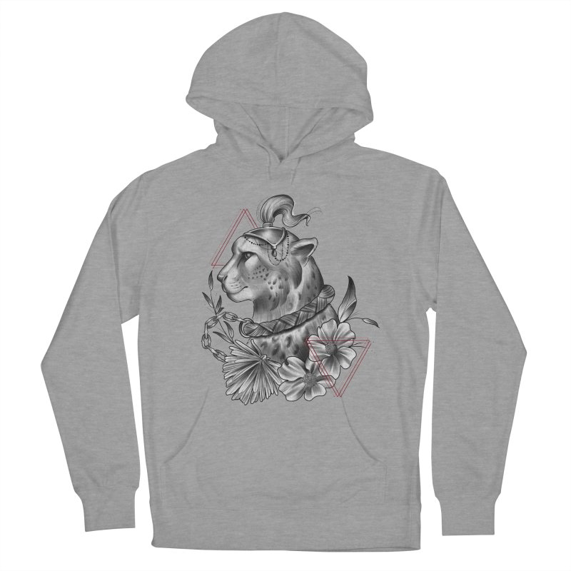 Acinonyx Men's French Terry Pullover Hoody by Toadhouse Editions