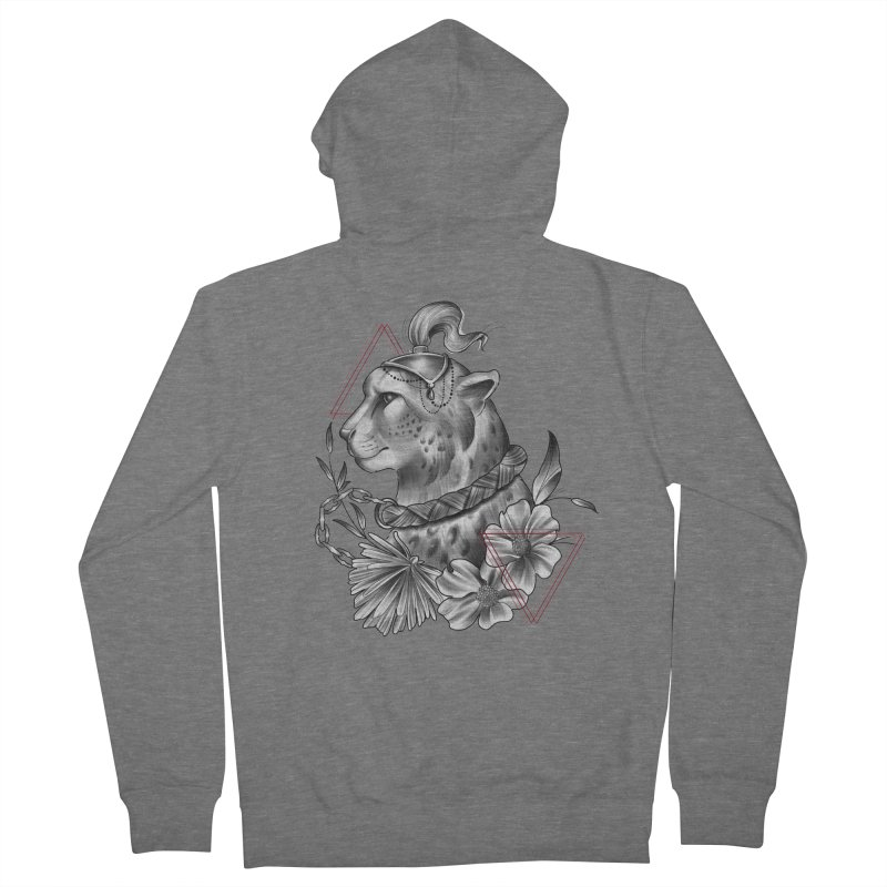 Acinonyx Women's French Terry Zip-Up Hoody by Toadhouse Editions