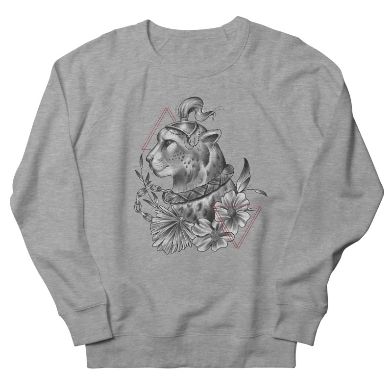 Acinonyx Women's French Terry Sweatshirt by Toadhouse Editions