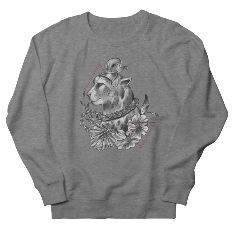 Acinonyx Men's French Terry Sweatshirt by Toadhouse Editions