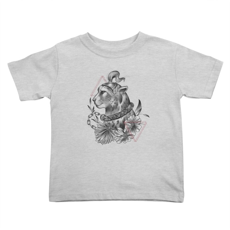 Acinonyx Kids Toddler T-Shirt by Toadhouse Editions