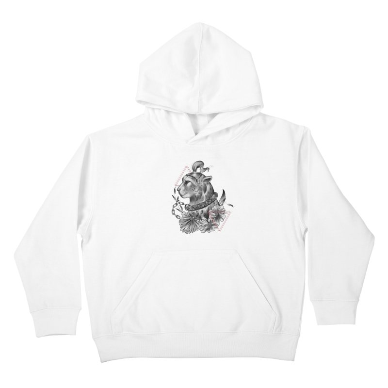 Acinonyx Kids Pullover Hoody by Toadhouse Editions