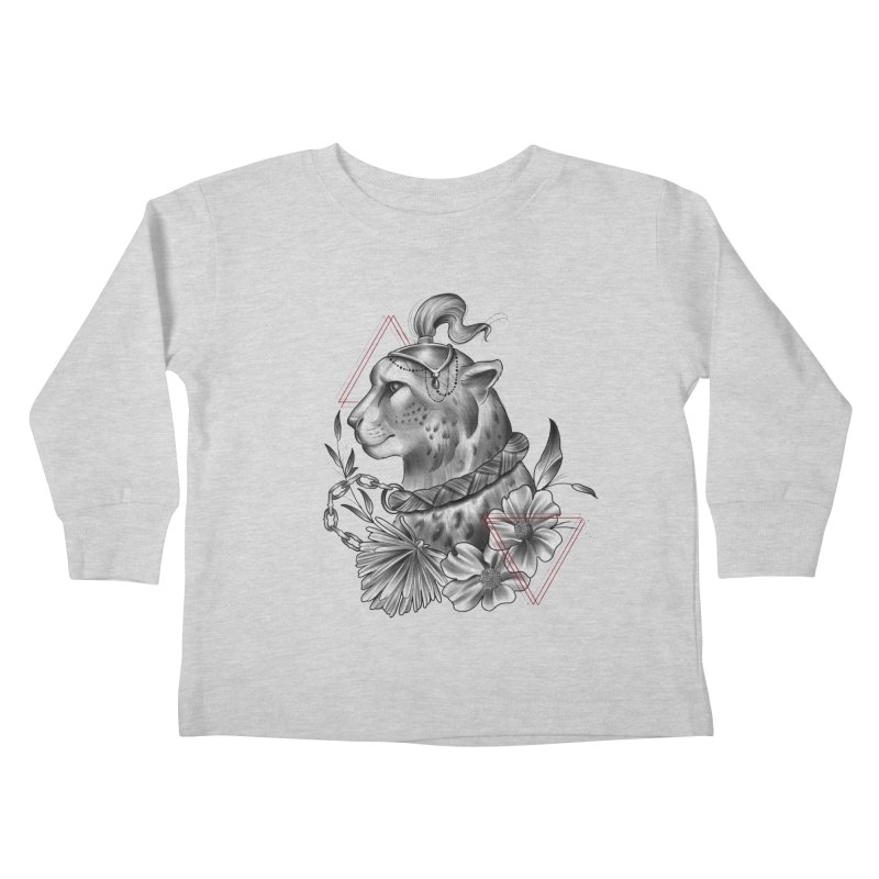 Acinonyx Kids Toddler Longsleeve T-Shirt by Toadhouse Editions