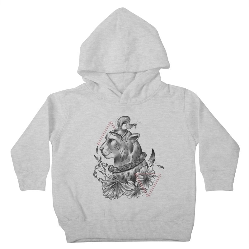 Acinonyx Kids Toddler Pullover Hoody by Toadhouse Editions