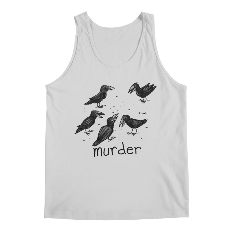 murder of crows Men's Regular Tank by Toadhouse Editions