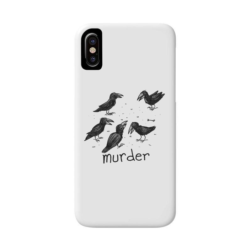 murder of crows Accessories Phone Case by Toadhouse Editions