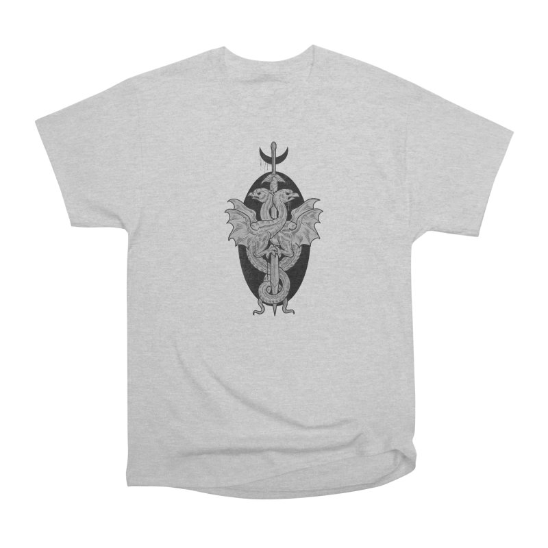 The Basilisks Men's Heavyweight T-Shirt by Toadhouse Editions