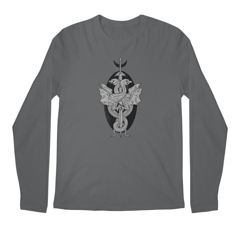 The Basilisks Men's Regular Longsleeve T-Shirt by Toadhouse Editions