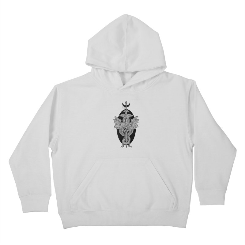 The Basilisks Kids Pullover Hoody by Toadhouse Editions