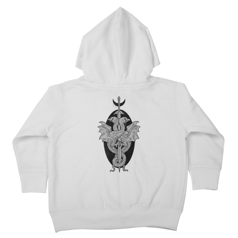 The Basilisks Kids Toddler Zip-Up Hoody by Toadhouse Editions