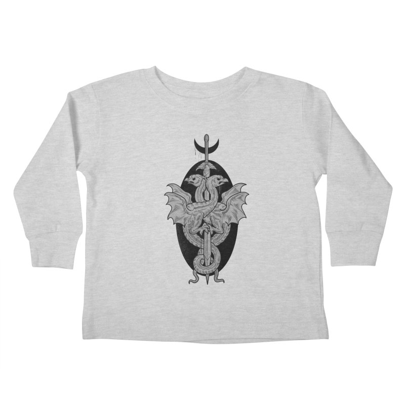 The Basilisks Kids Toddler Longsleeve T-Shirt by Toadhouse Editions