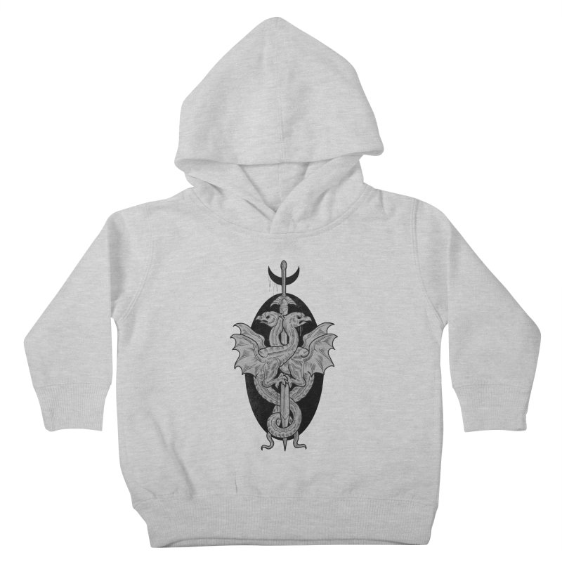 The Basilisks Kids Toddler Pullover Hoody by Toadhouse Editions