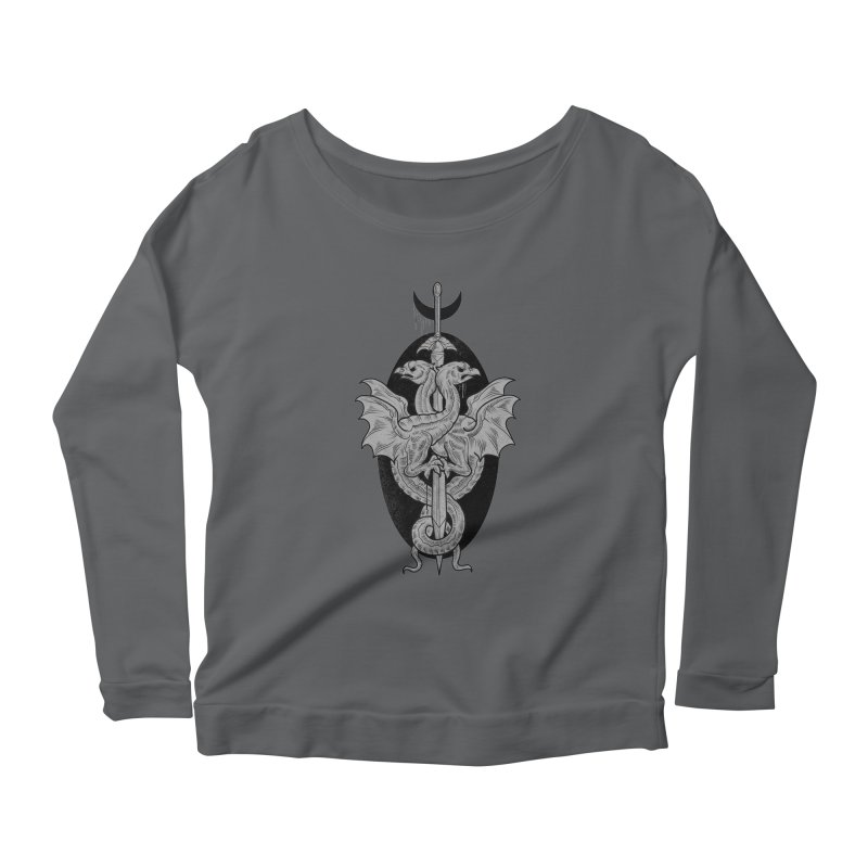 The Basilisks Women's Scoop Neck Longsleeve T-Shirt by Toadhouse Editions