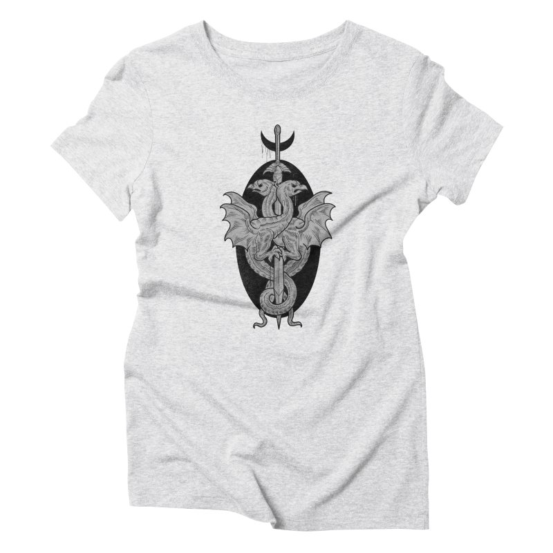 The Basilisks Women's Triblend T-Shirt by Toadhouse Editions