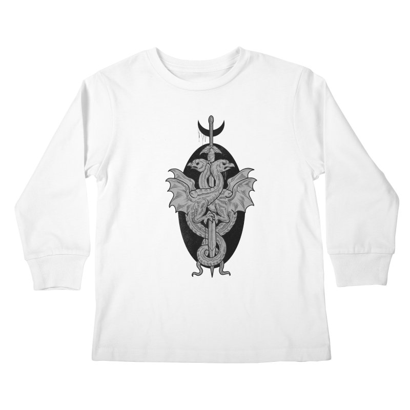 The Basilisks Kids Longsleeve T-Shirt by Toadhouse Editions