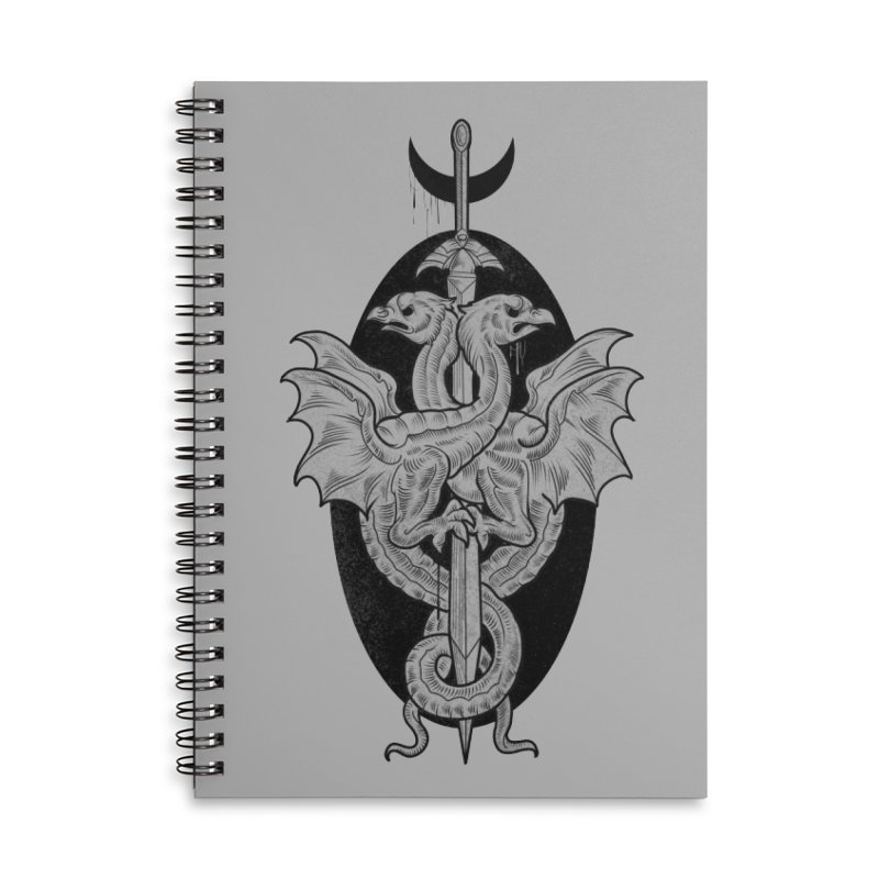 The Basilisks Accessories Lined Spiral Notebook by Toadhouse Editions
