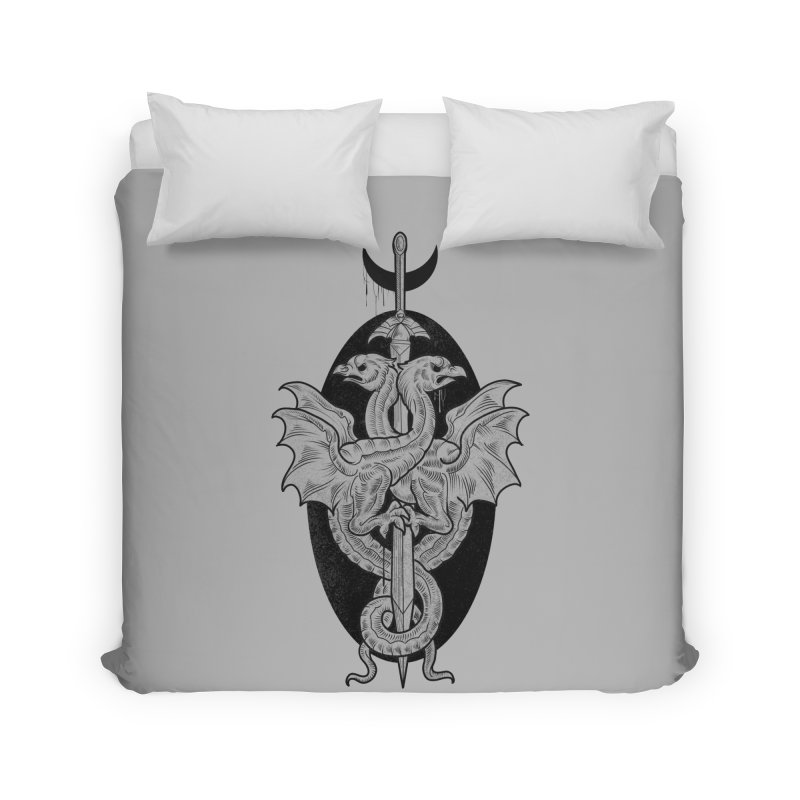 The Basilisks Home Duvet by Toadhouse Editions