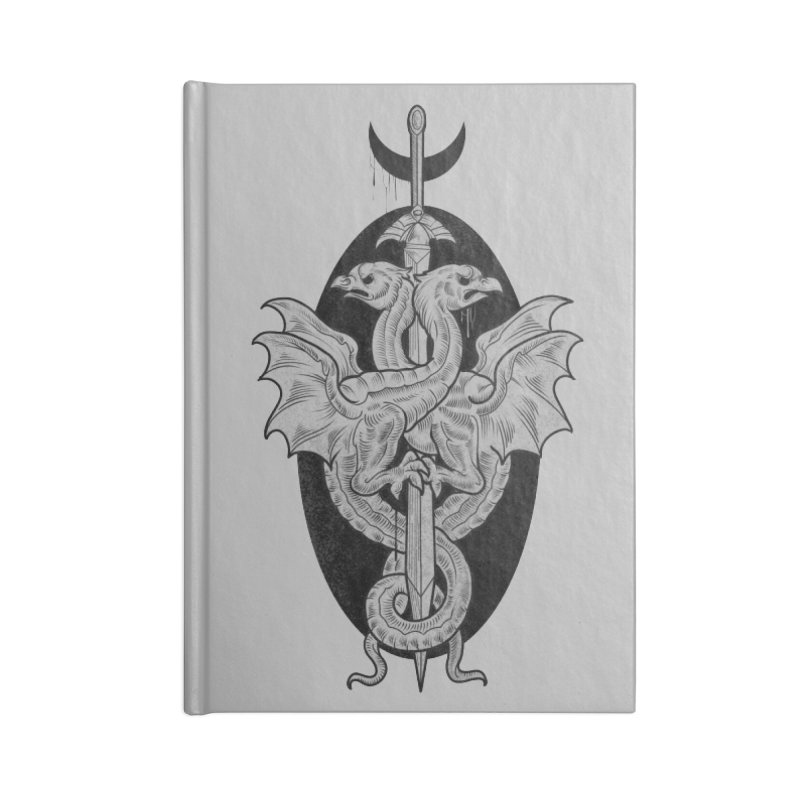 The Basilisks Accessories Lined Journal Notebook by Toadhouse Editions