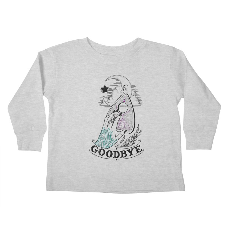 Goodbye! Kids Toddler Longsleeve T-Shirt by Toadhouse Editions