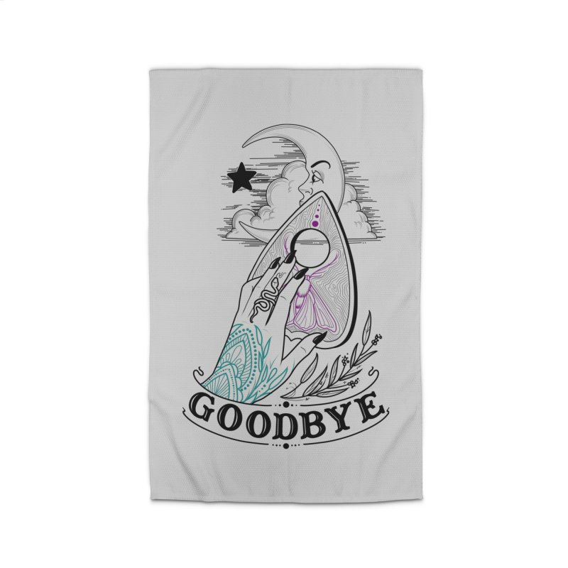 Goodbye! Home Rug by Toadhouse Editions