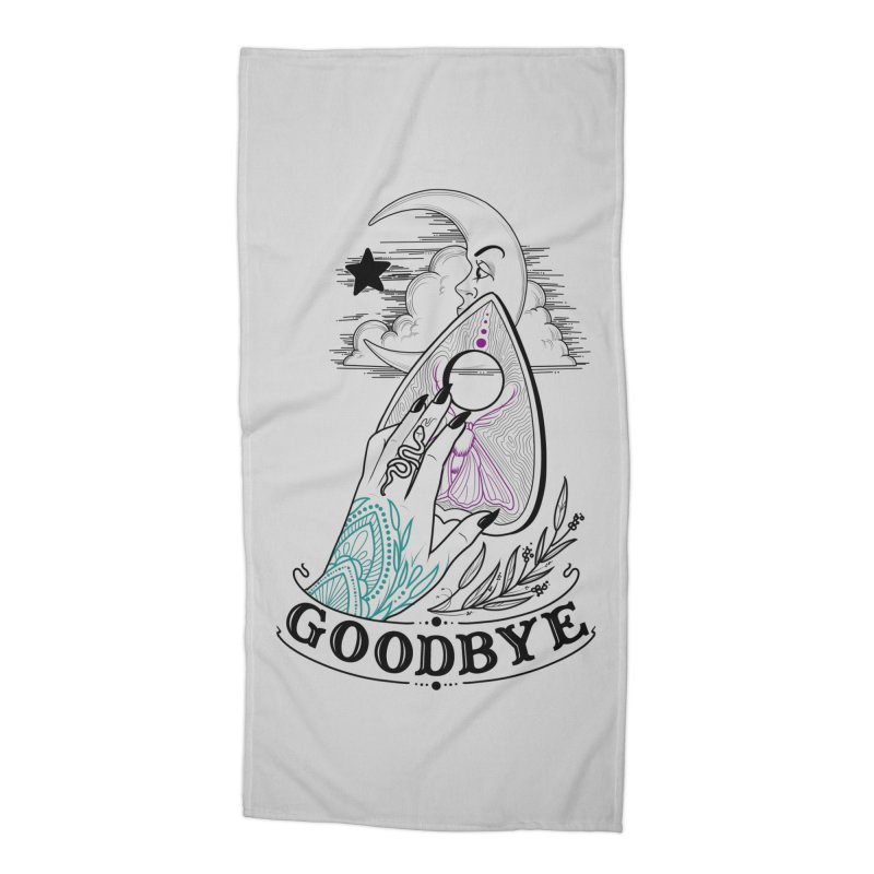 Goodbye! Accessories Beach Towel by Toadhouse Editions