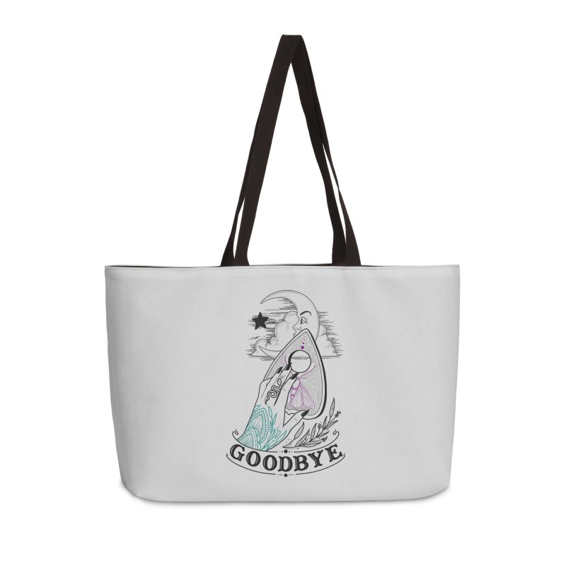 Goodbye! Accessories Weekender Bag Bag by Toadhouse Editions