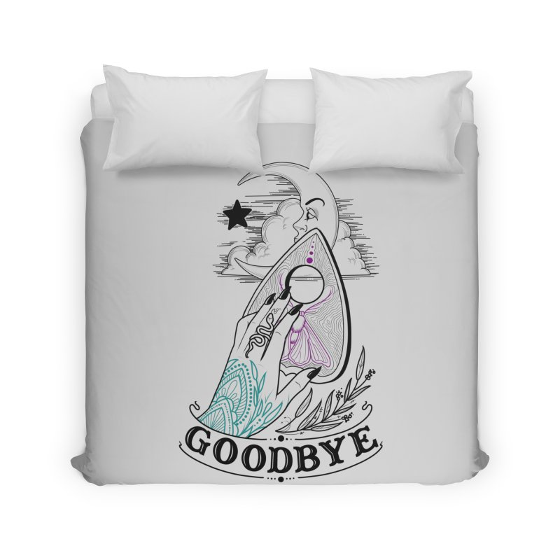 Goodbye! Home Duvet by Toadhouse Editions